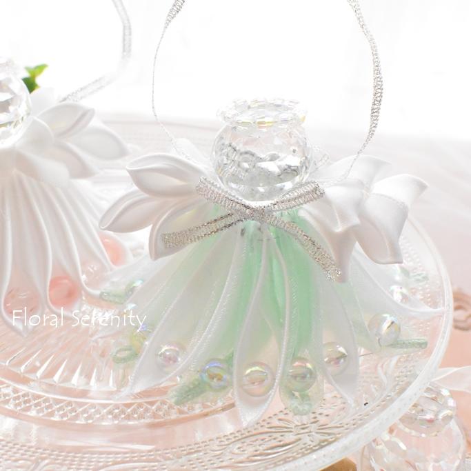 グリーンホワイトの天使