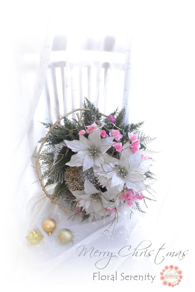 東京クリスマスマーケット2019フローラルセレニティー作品