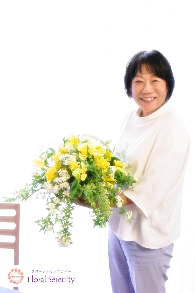 Tさんとお花