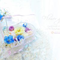 結婚祝い引き出物プリザーブドフラワー