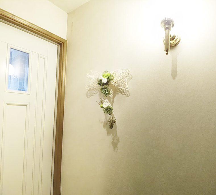 玄関フラワーアレンジメント